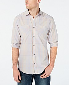 INC Men's Aaron Plaid Shirt, Created for Macy's