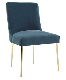 Nolita Velvet Accent Chair, Quick Ship