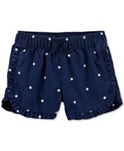 9c59baee Carter's Toddler Girls Star-Print Cotton Shorts