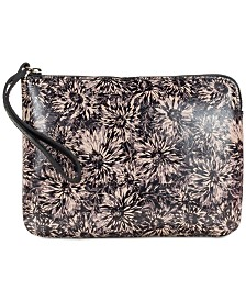 Patricia Nash Sunflower Cassini Wristlet