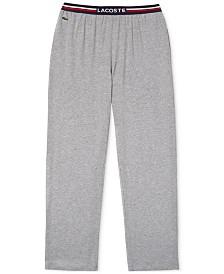 Lacoste Men's Knit Pajama Pants