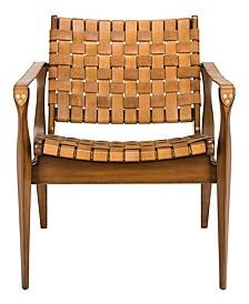 Dilan Leather Safari Chair