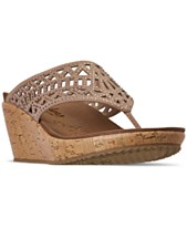 1101fb03d92 Skechers Women s Cali Beverlee - Summer Visit Wedge Sandals from Finish Line