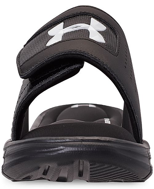 0489fd3d422 Under Armour Men s Ignite V Slide Sandals from Finish Line   Reviews ...
