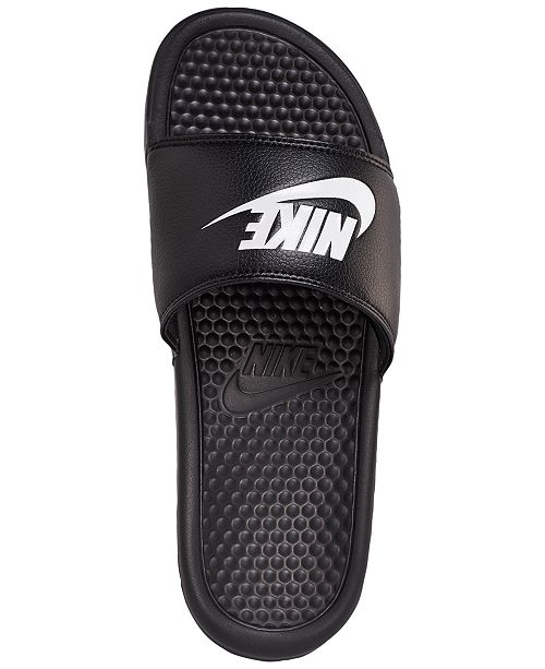 4d3780faa9b1f9 Nike Men s Benassi Just Do It Slide Sandals from Finish Line ...