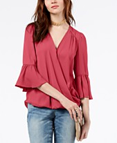 5f243af46842be bell sleeve tops - Shop for and Buy bell sleeve tops Online - Macy's