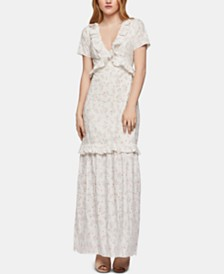 BCBGeneration Ruffled Maxi Dress