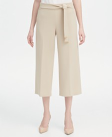 Calvin Klein Belted Culottes