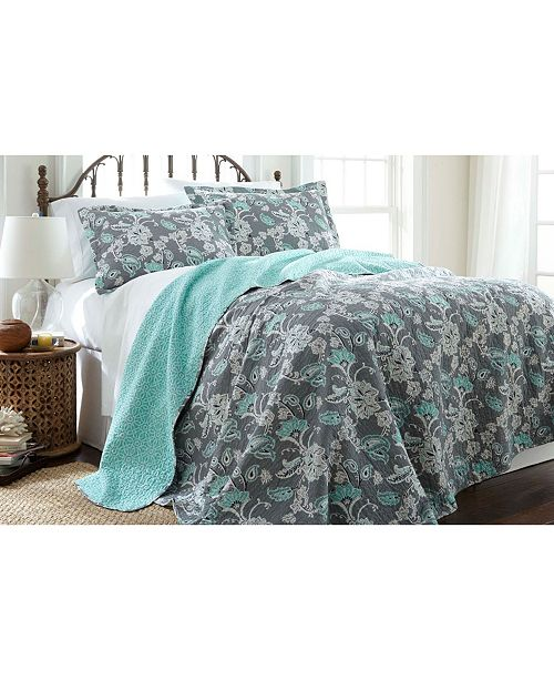 Modern Threads Pct Home Collection 6 Piece Comforter/Coverlet Sets Mavia King