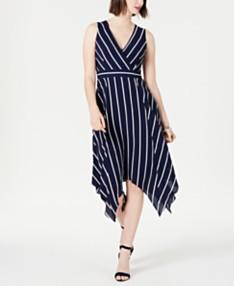 d8bede77b24 Jessica Howard Sleeveless Hanky-Hem Dress