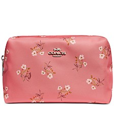 COACH Floral Large Cosmetic Case