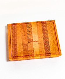 Brasil Home Decor Small Square Cutting Board