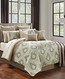 Andalucia 14-Pc. Queen Comforter Set
