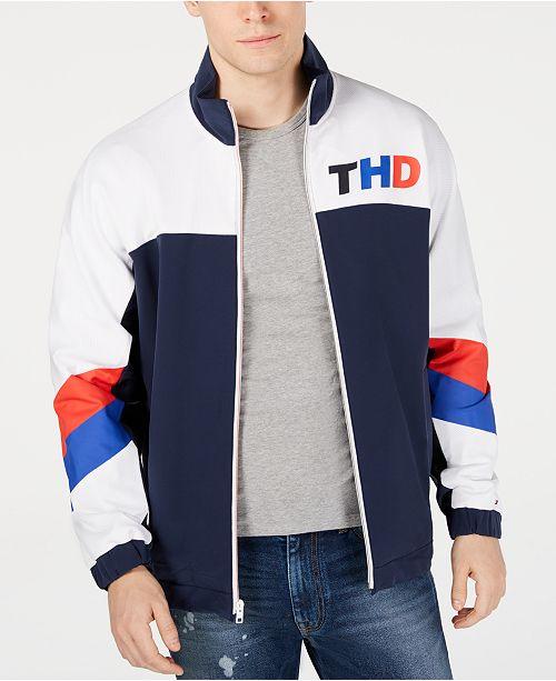 097efda8f Tommy Hilfiger Men's Xavi Track Jacket & Reviews - Coats & Jackets ...
