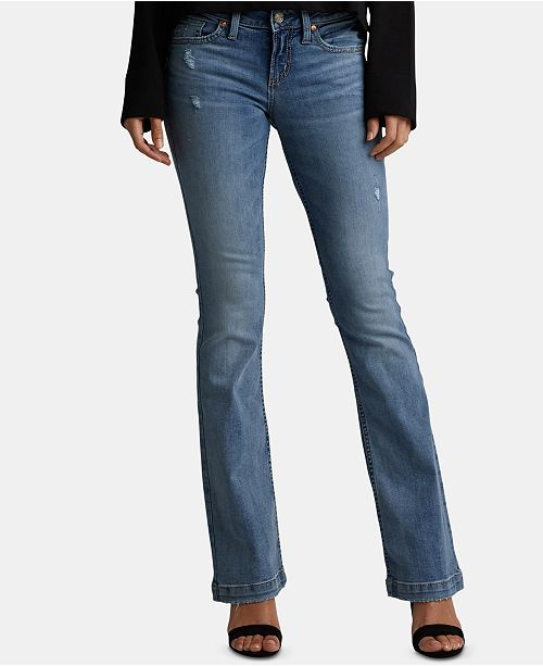 ee684a5c304 Silver Jeans Co. Suki Ripped Bootcut Jeans & Reviews - Jeans ...