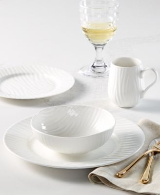 Sophie Conran Oak 4 Piece Place Setting,  Created for Macy's