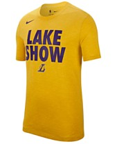 6a95d62f65d Nike Men s Los Angeles Lakers Team Essential Local Slogan Slub T-Shirt