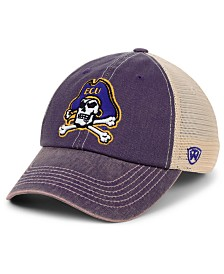 Top of the World East Carolina Pirates Wicker Mesh Snapback Cap