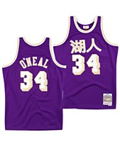 ec9a40c6115 Mitchell & Ness Men's Shaquille O'Neal Los Angeles Lakers Chinese New Year Swingman  Jersey