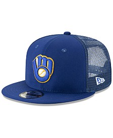 New Era Milwaukee Brewers Coop All Day Mesh Back 9FIFTY Snapback Cap
