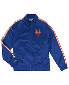 Mitchell & Ness Men's New York Mets Sublimated Sleeve Track Jacket
