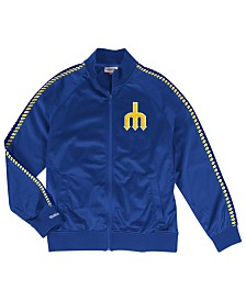 Mitchell & Ness Men's Seattle Mariners Sublimated Sleeve Track Jacket