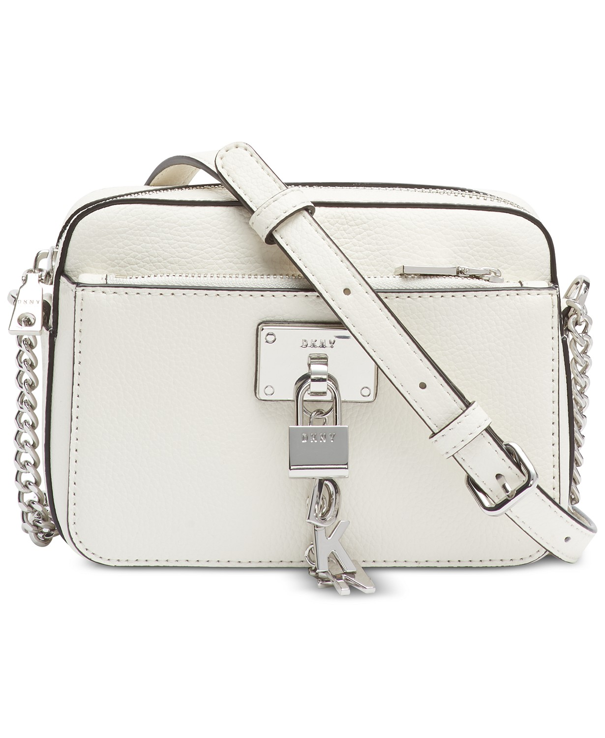 DKNY Elissa Pebble Leather Crossbody