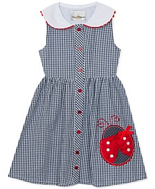 Rare Editions Toddler Girls Gingham Seersucker Dress