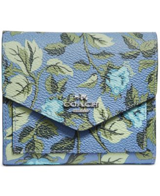 Floral Print Small Wallet