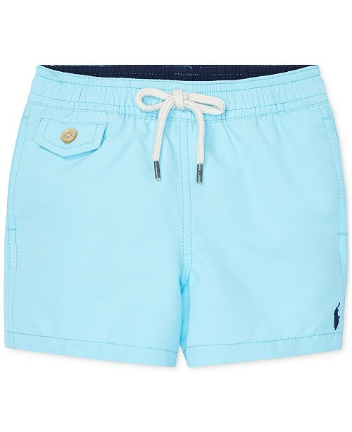 e213ab1503257 Polo Ralph Lauren Baby Boys Traveler Swim Trunks & Reviews ...