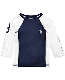 Polo Ralph Lauren Baby Boys Stretch Jersey Rash Guard