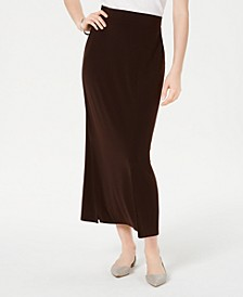 Side-Slit Pull-On Skirt, Created for Macy's