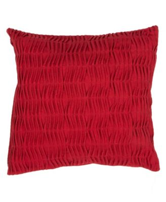 Florenza Solid Poly Throw Pillow 20