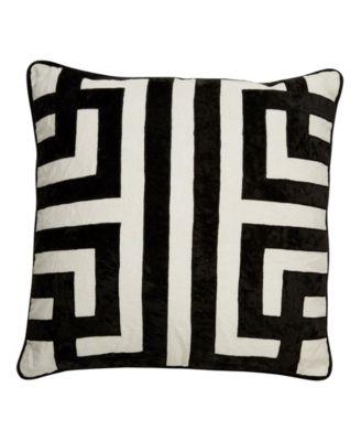 Nikki Chu By Ordella Geometric Down Throw Pillow 22