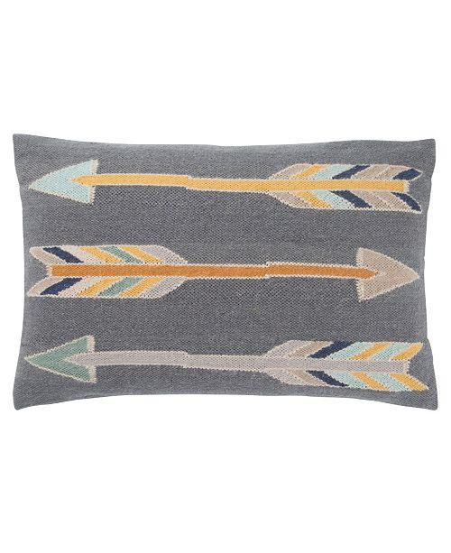 "Jaipur Living Luli Sanchez By Artemas Graphic Poly Throw Pillow 16"" x 24"""