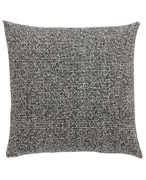 Jaipur Rugs Inc Living Chanel Gray Black Textured Poly Throw Pillow 20