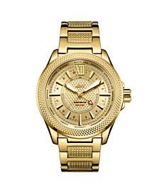 Men's 10 YR Anniversary GMT Globetrotter Diamond (1/5 ct.t.w.) Watch