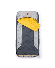 Home-Away-Bed M-3D 30 Degree Fahrenheit -1.1 Degree Celsius Multi-Down Hooded Mummy Sleeping Bag Regular
