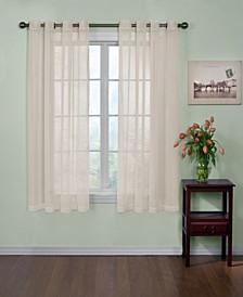 "Curtainfresh Grommet Voile 59"" x 63""  Panel"