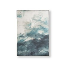 Graham & Brown Abstract Skies Framed Canvas Wall Art