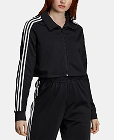 adidas Originals 70s Kick Cropped Track Jacket