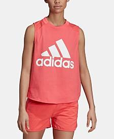 Adidas Sport ID Mesh-Back Tank Top