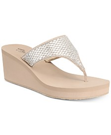 Thalia Sodi Elenia Wedge Flip-Flop Sandals, Created for Macy's