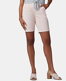 Petite Chino Bermuda Shorts