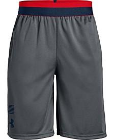 Big Boys Americana Logo Shorts