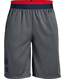 Under Armour Big Boys Americana Logo Shorts