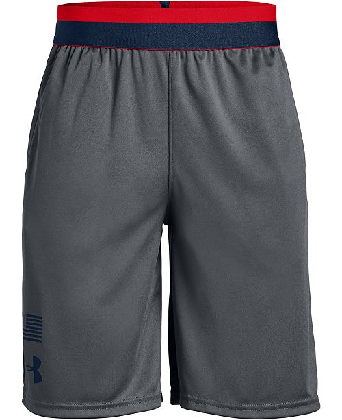 Under Armour Big Boys Americana Logo Shorts