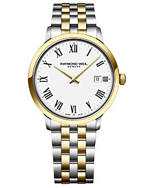 RAYMOND WEIL Men's Swiss Toccata Two-Tone Stainless Steel Bracelet Watch 39mm