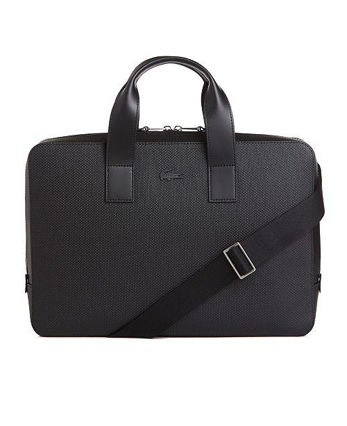 a047c04a46ae ... Leather Computer Bag  Lacoste Men s Chantaco Matte Piqu eacute  ...