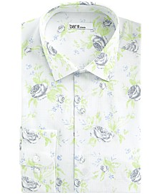 Bar III Men's Slim-Fit Stretch Rose Grid Dress Shirt, Created For Macy's